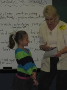 The Lovable Poet teaching
