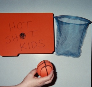 """Chances to shoot to win with focused """"Hot Shot Kids"""" make a good reward for K - 5 students."""