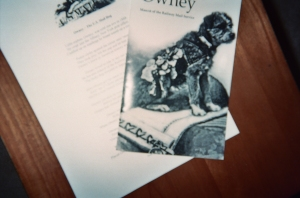 Owney, the US Mail Dog, offers a dog-gone catchy key to history!