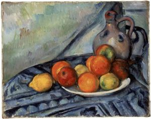 Paul Cézanne, Fruit and a Jug on a Table, circa 1890-94, oil on canvas, 12/34 x 16 in., Museum of Fine Arts, Boston, Bequest of John T. Spaulding, Photograph © 2012 Museum of Fine Arts, Boston