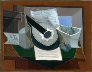 Juan Gris, Still Life with a Guitar, 1925, oil on canvas, 28 3/4 x 37 1/4 in., Museum of Fine Arts, Boston, Gift of Joseph Pulitzer, Jr. Photograph © 2012 Museum of Fin Arts, Boston